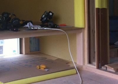 住宅工事の納まり